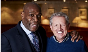 Colin Newbold (Founder and CEO) with Frank Bruno
